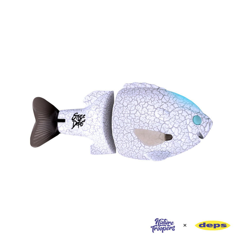 Bull Shooter White Crack Gill2 Jr. F