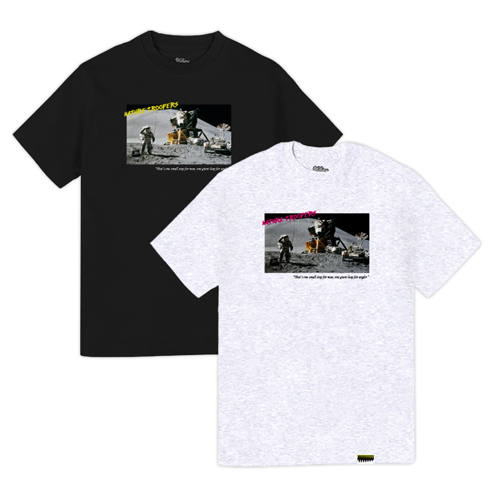 NTPS Apollo Tee - Black/AshGray